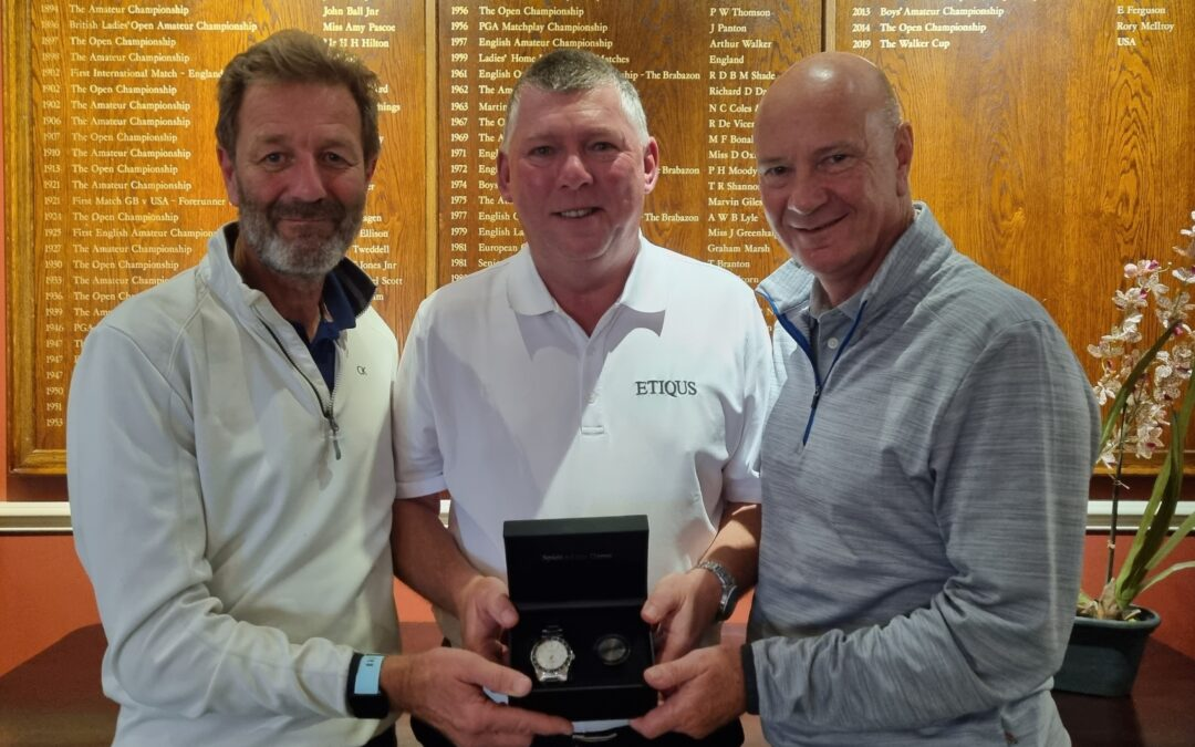 Dixon & Perkins Share 2020/21 ETIQUS – Race To Hoylake – AGW Golfer Of The Year Honours