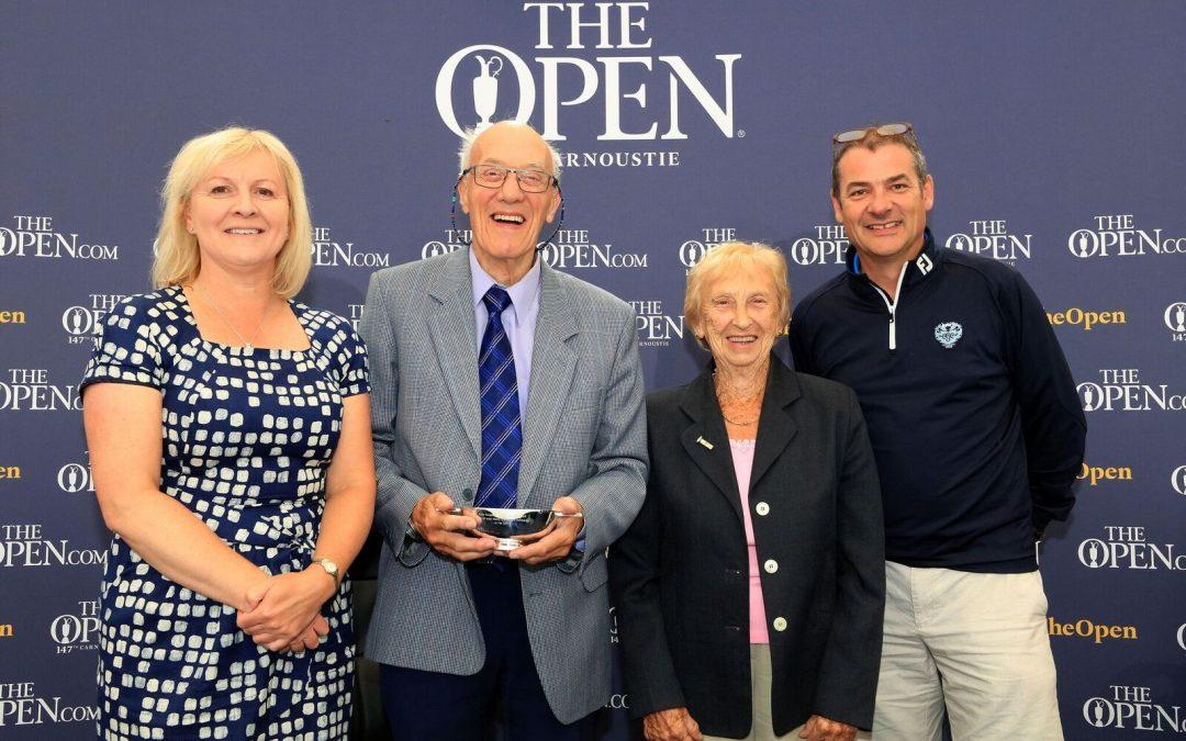 Colin Farquharson Honoured With AGW Life Membership.