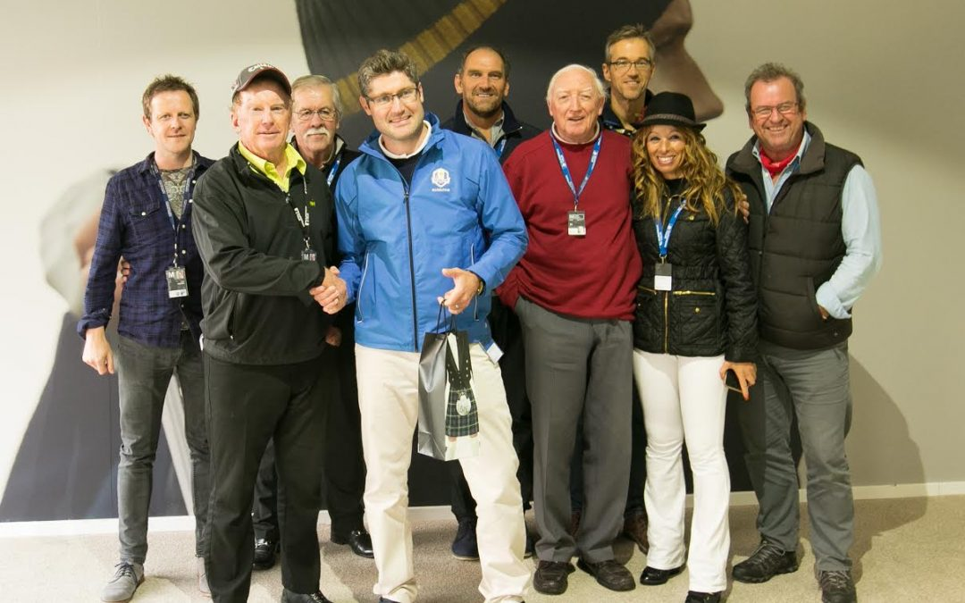 Paul Symes Afforded AGW Send-Off From European Tour.