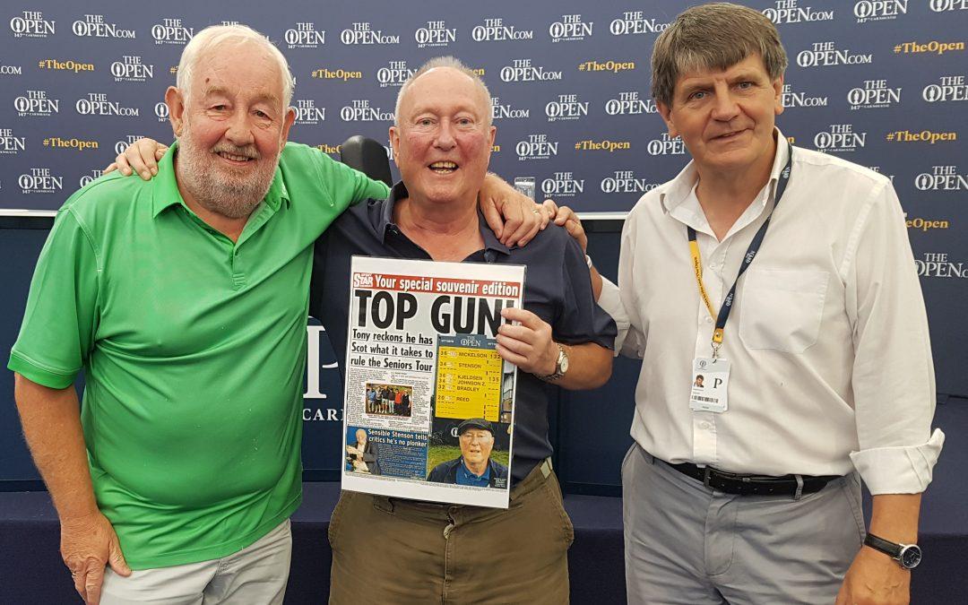 Tony Stenson's Retirement Makes Back Page Headlines.
