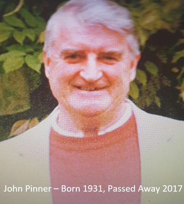 John Pinner – AGW Member 1987 – 2017 – Tributes.