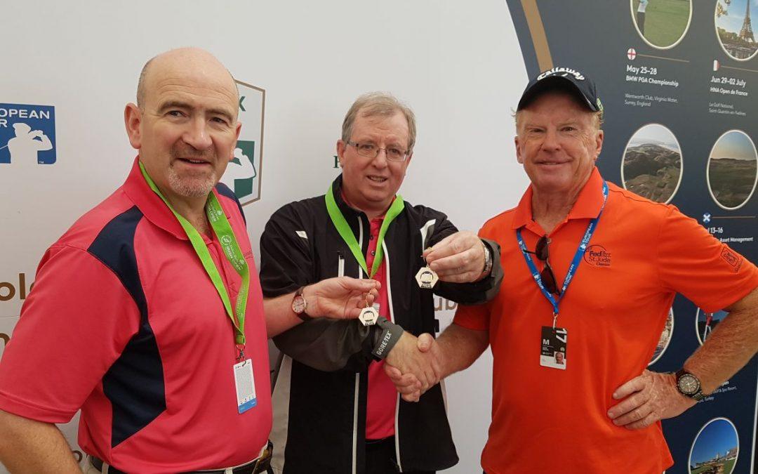 AGW Medallions Presented To Philip Quinn & Liam Kelly.